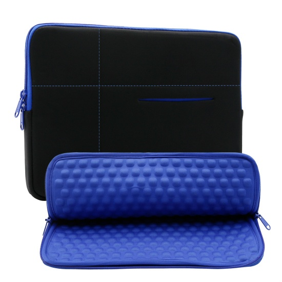 RAINYEAR 11-11.6 Inch Laptop Sleeve Diamond Foam Water/&Shock Resistant Case Carrying Bag Compatible 11.6 Macbook Air 10.8 Surface 11 Notebook Chromebook for Dell HP Lenovo Thinkpad Asus Acer Navy Blue